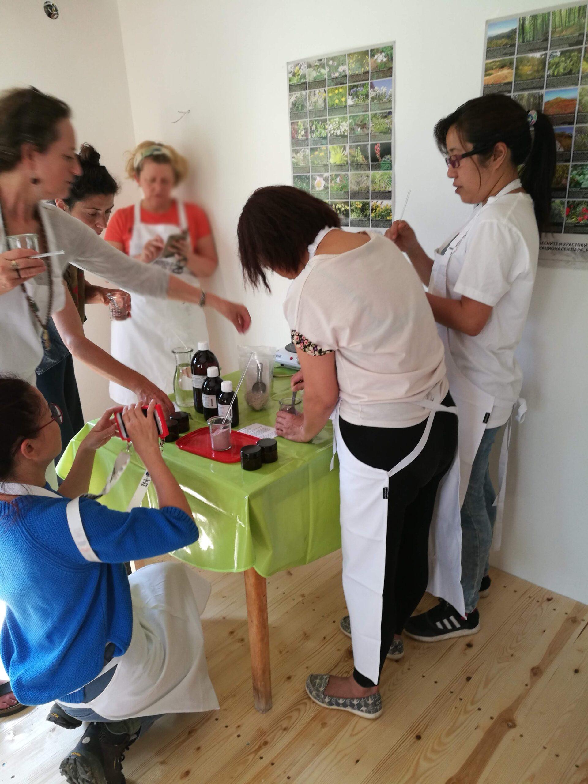 Workshop natural cosmetics